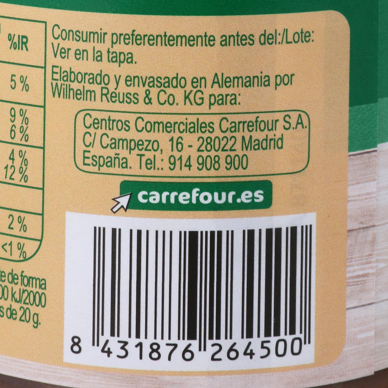 Crema de avellanas con cacao Carrefour 400 g. - 3