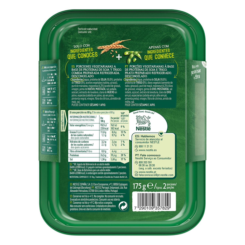 Bocaditos braseados a base de proteínas vegetales Garden Gourmet 175 g. -