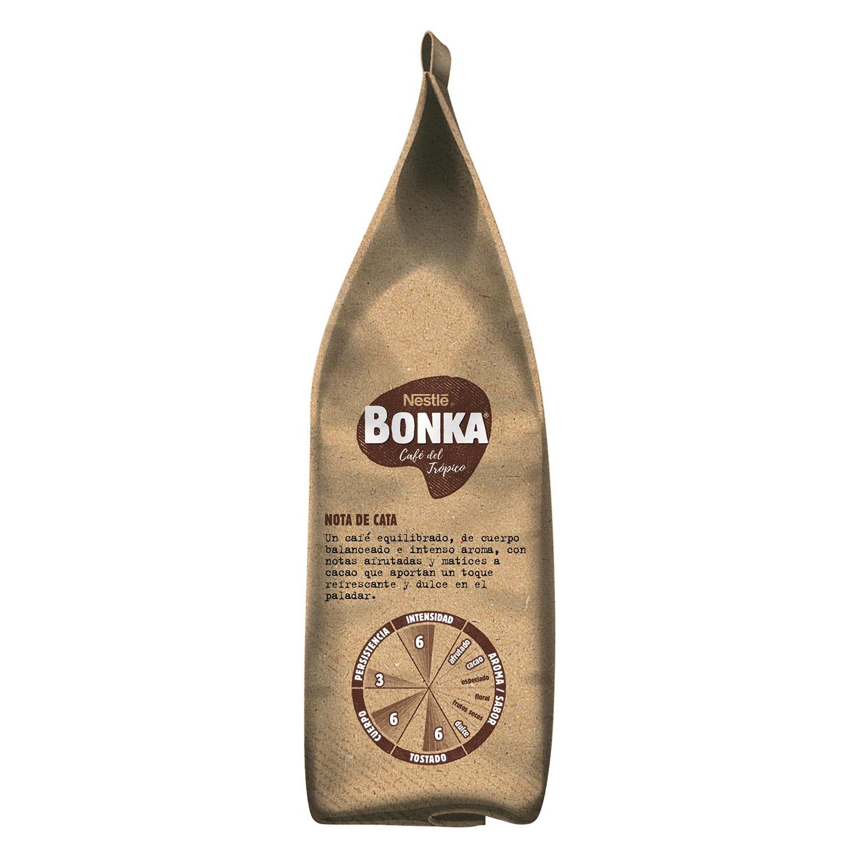 Café molido natural espresso cultivo sostenible Nestlé Bonka 220 g. - 3