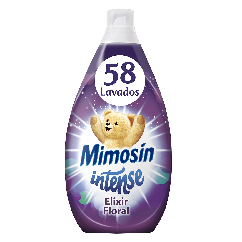 Suavizante concentrado Intense Elixir Floral Mimosín 58 lavados.