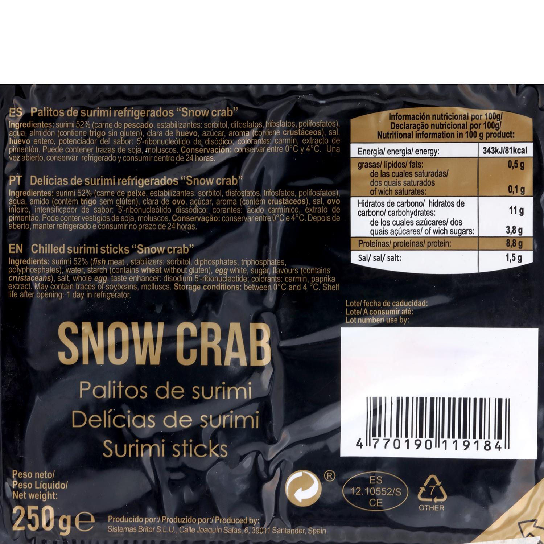Palitos de surimi premium Vici 250 g - 3