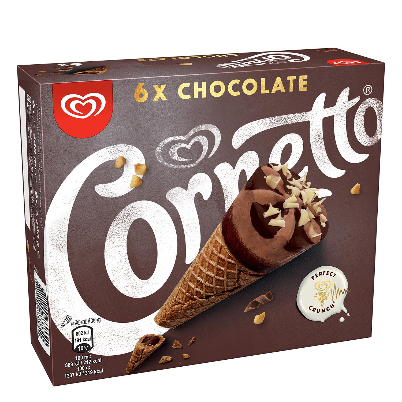 Helado de cono Chocolate Cornetto - Carrefour supermercado compra online