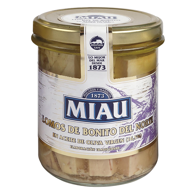 Lomos de bonito en aceite de oliva