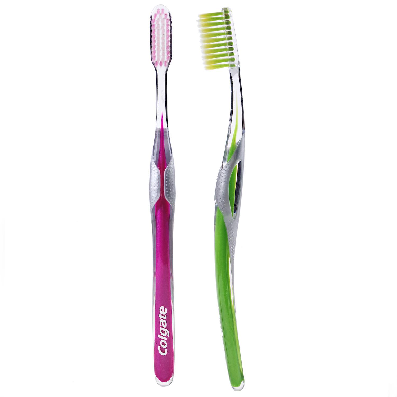 Cepillo dental Slim Soft Colgate 2 ud. -