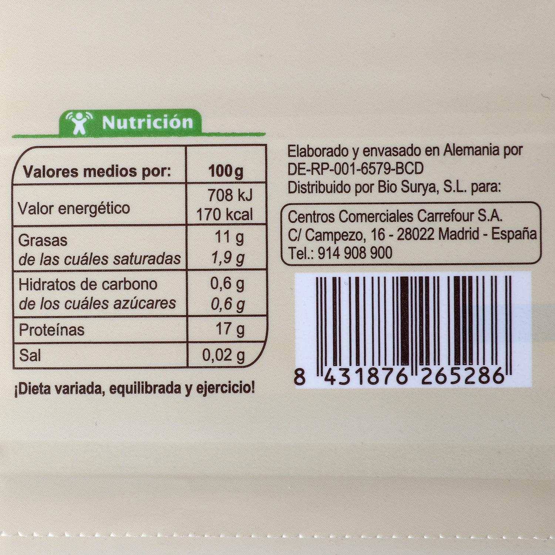Tofu natural ecológico Carrefour Bio 400 g. -