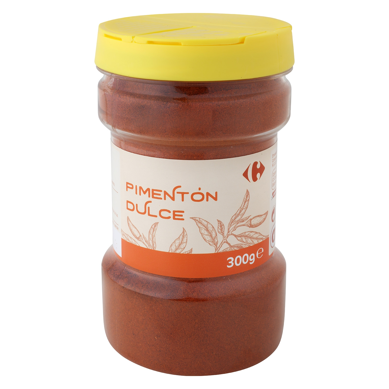 Pimentón dulce Carrefour 300 g.