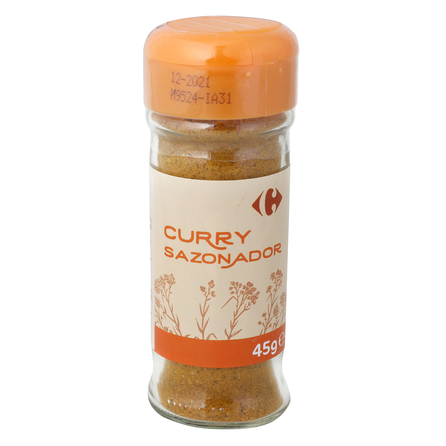 Curry Carrefour 45 g.