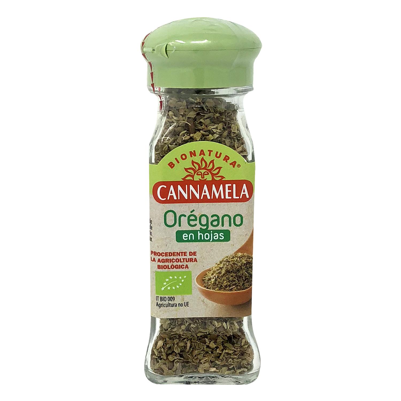 Orégano en hoja ecológico Cannamela 14 g.