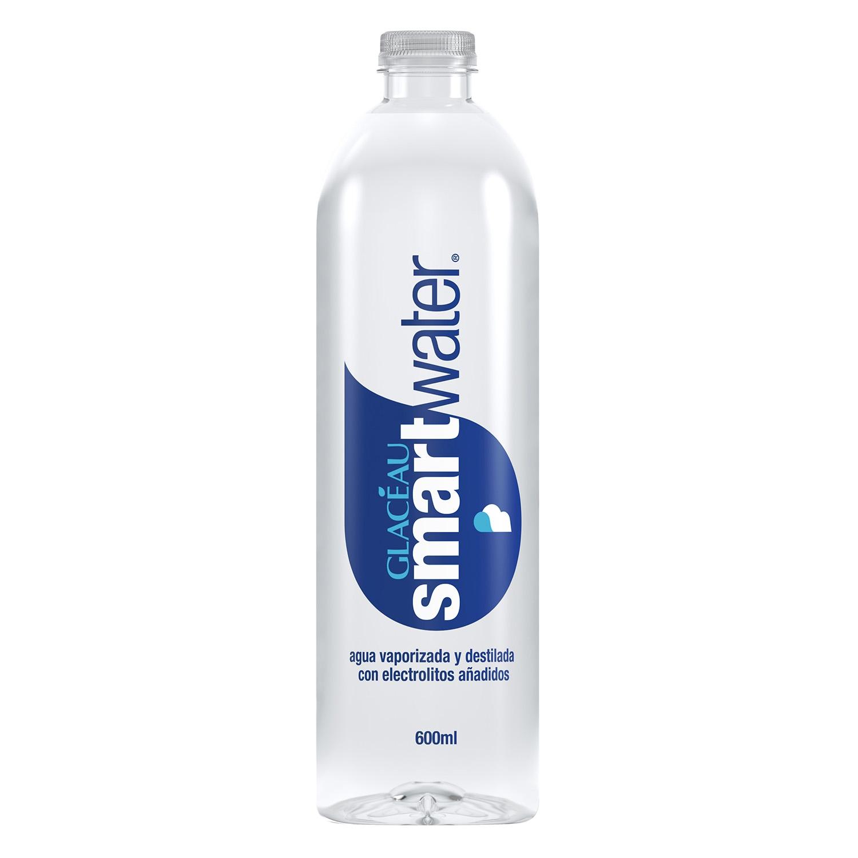 Agua Glaceau vaporizada y destilada con electrolitos añadidos 60 cl.