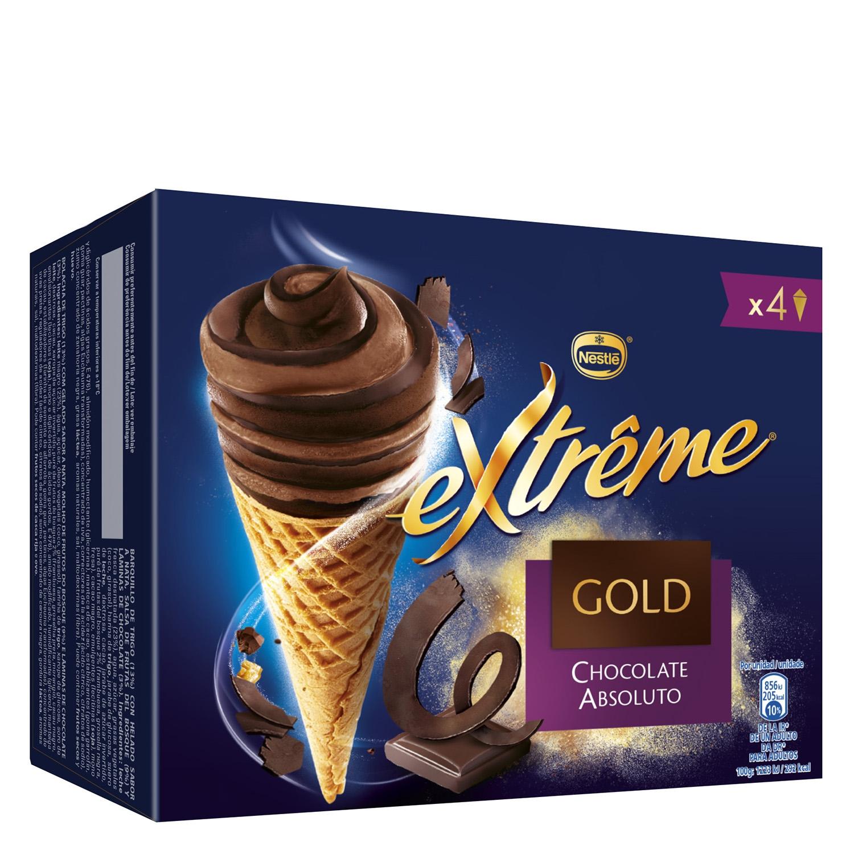 Cono helado extreme gold chocolate absoluto