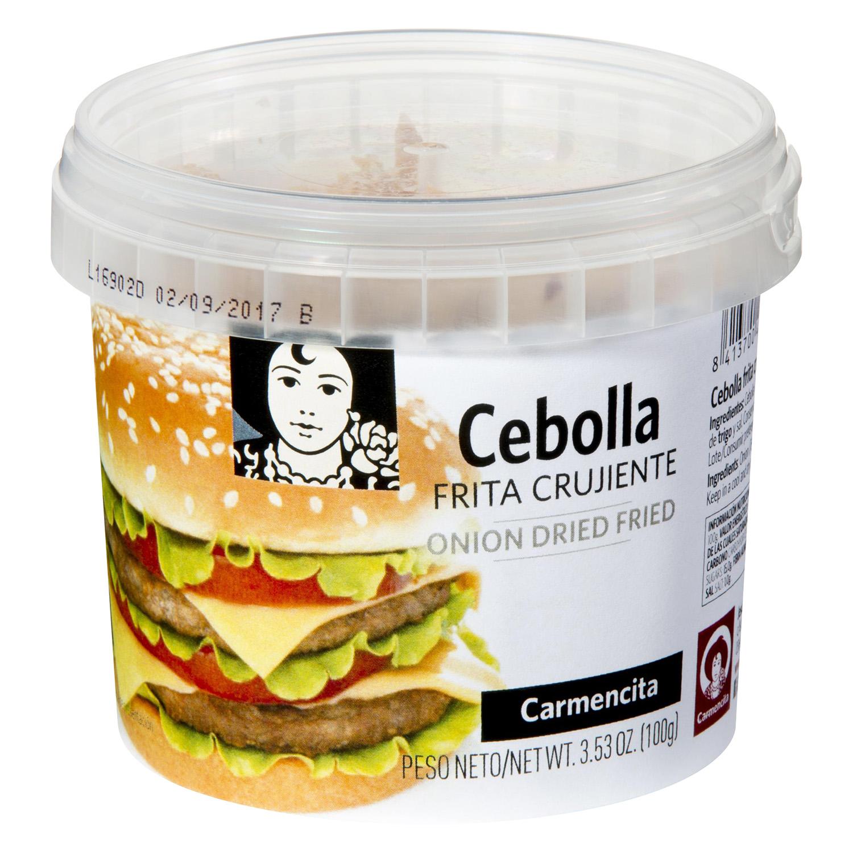 Cebolla frita Carmencita 100 g.