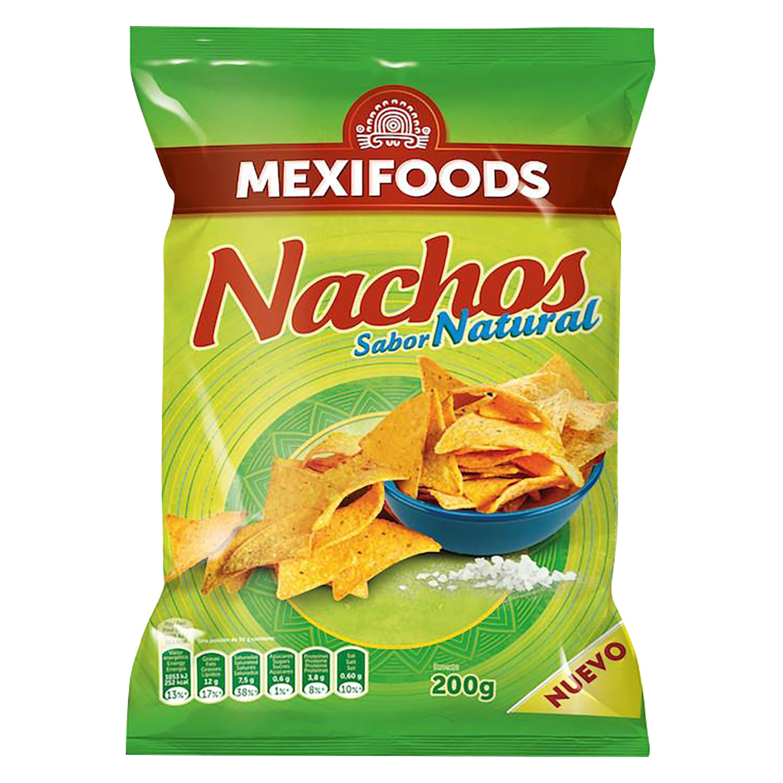 Nachos sabor natural