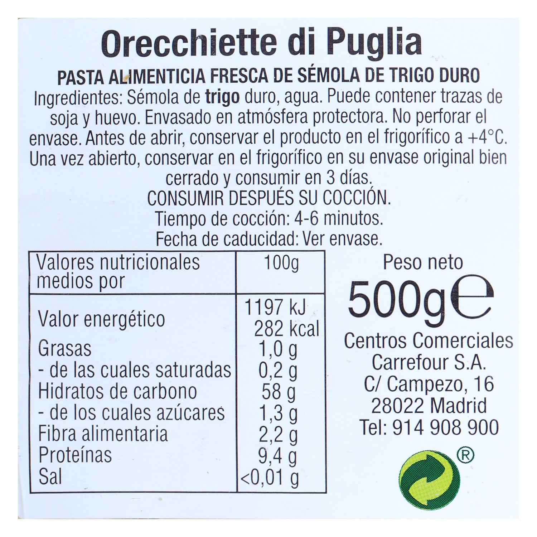Orecchiette Terre d'Italia 500 g. -