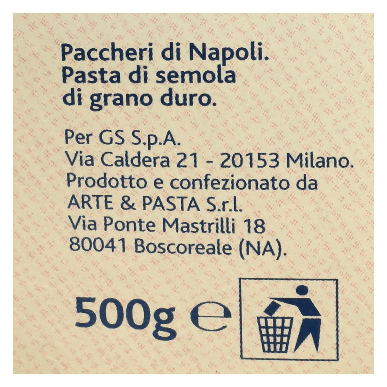 Paccheri Terre d'Italia 500 g. -