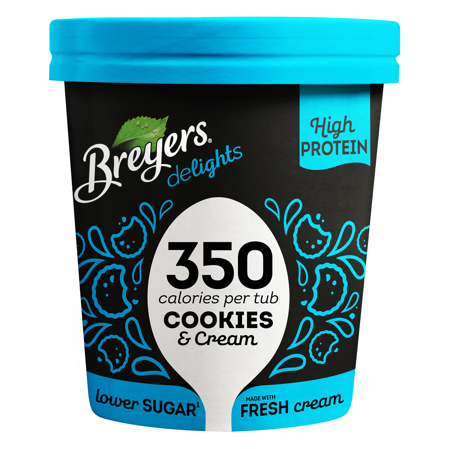 Helado de galletas y crema Breyers 500 ml.