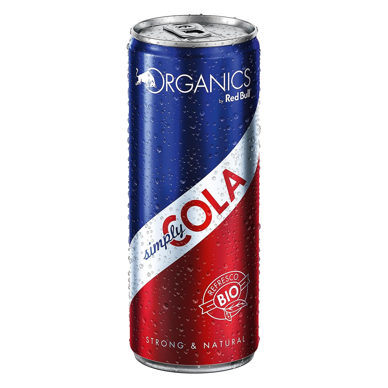 Refresco de cola ecológico Redbull - Organics lata 25 cl.