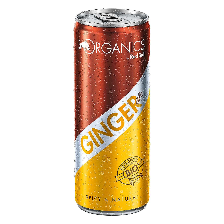 Ginger Redbull - Organics lata  25 cl.