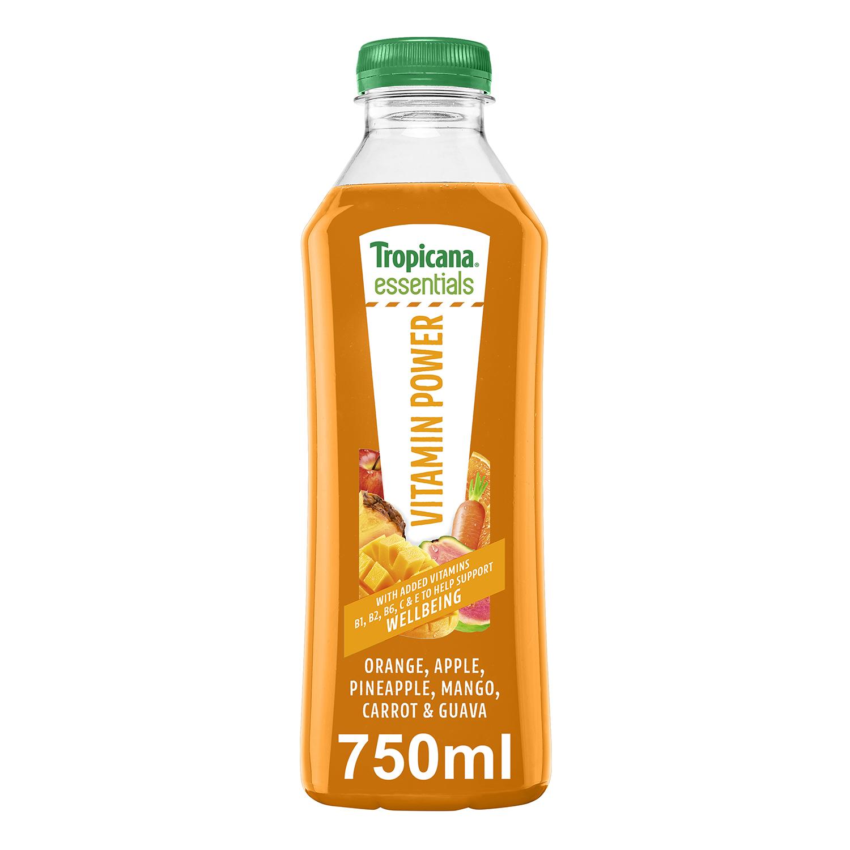 Zumo Tropicana Vitamine Power 75 cl.