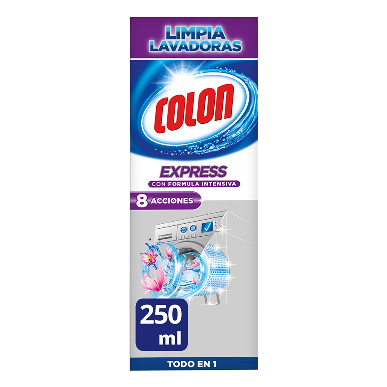 Limpia lavadoras Express Colon 250 ml.