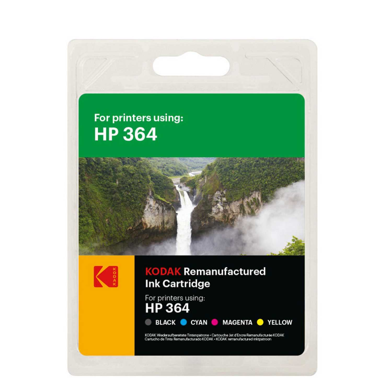 Multipack Cartucho de Tinta Kodak HP364 - Negro/Tricolor
