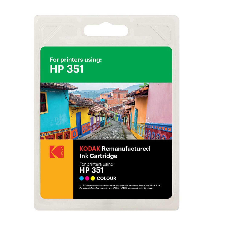 Cartucho de Tinta Kodak HP351 - Tricolor