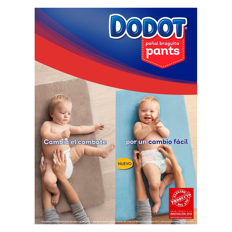 Pañal-braguita Pants T5 (12-17 kg) Dodot 31 ud. -
