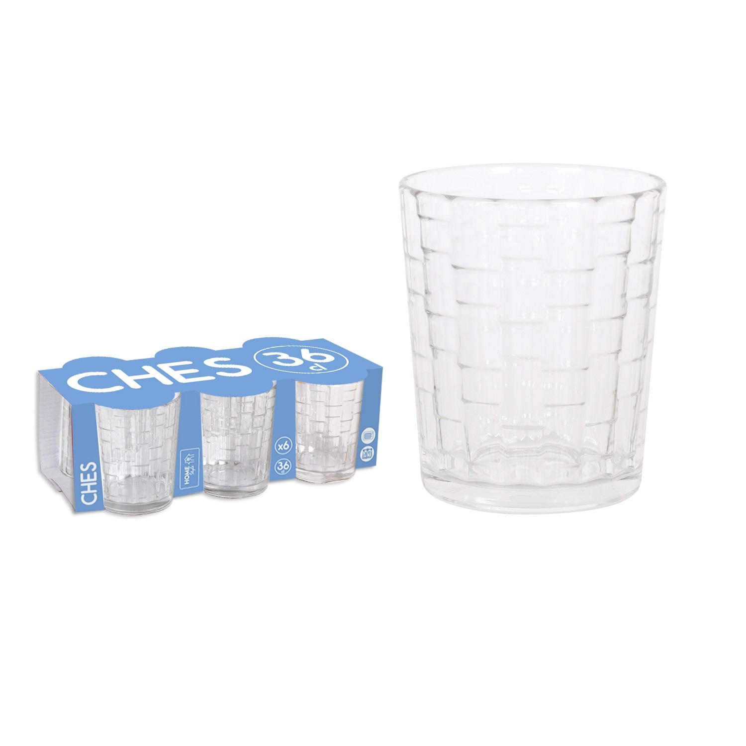 Vaso Ches 36 cl 6 ud