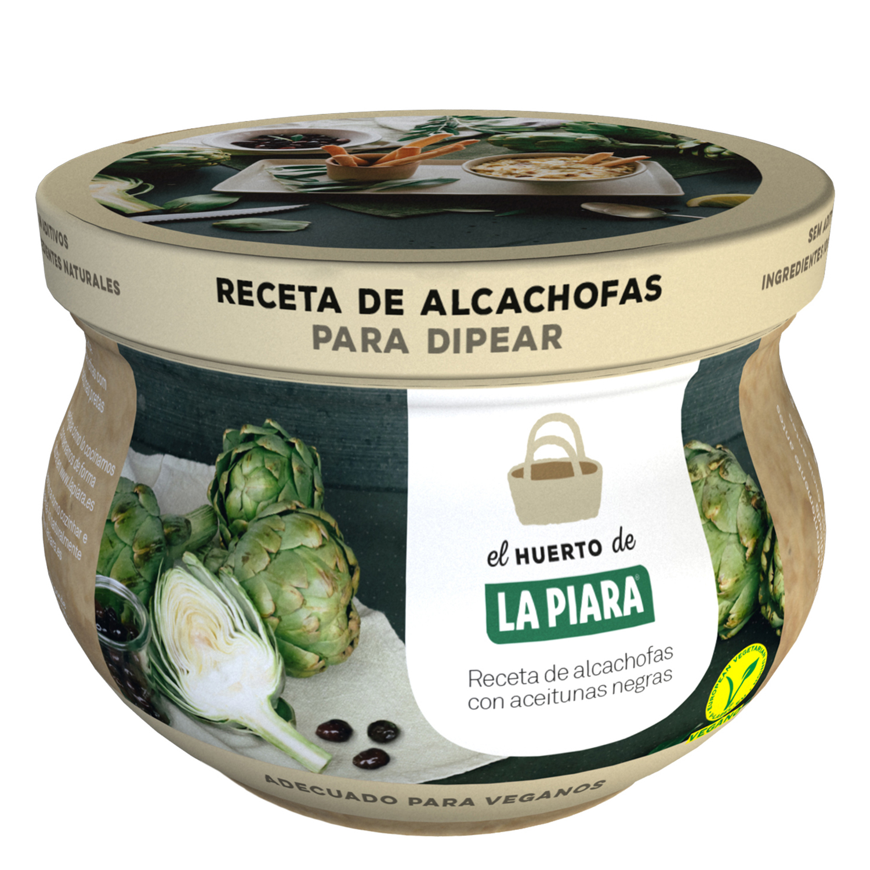 Receta de alcachofas con aceitunas negras para dipear