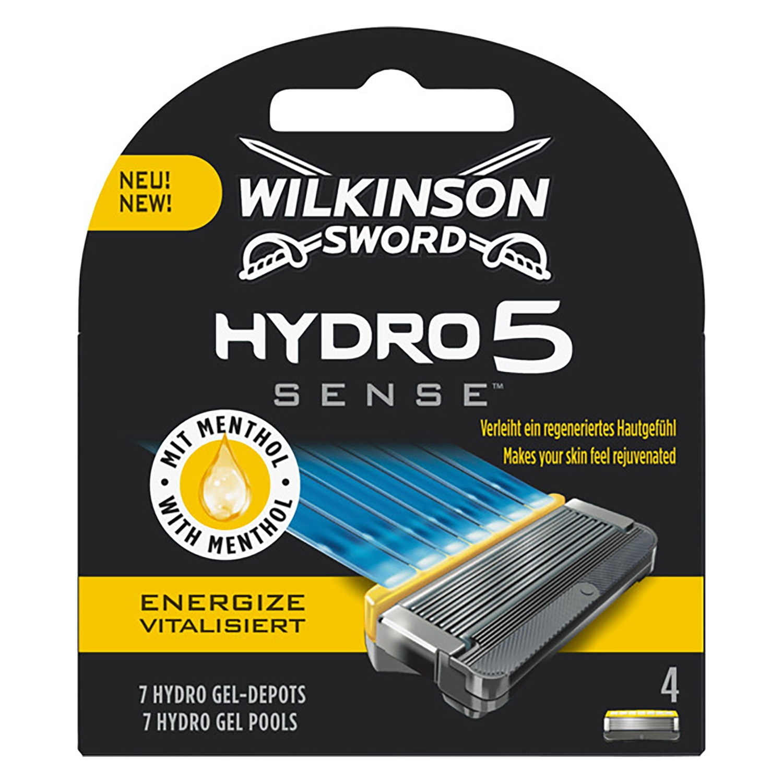 Recambio para maquinilla de afeitar Hydro 5 sense Energize Wilkinson 4 ud.