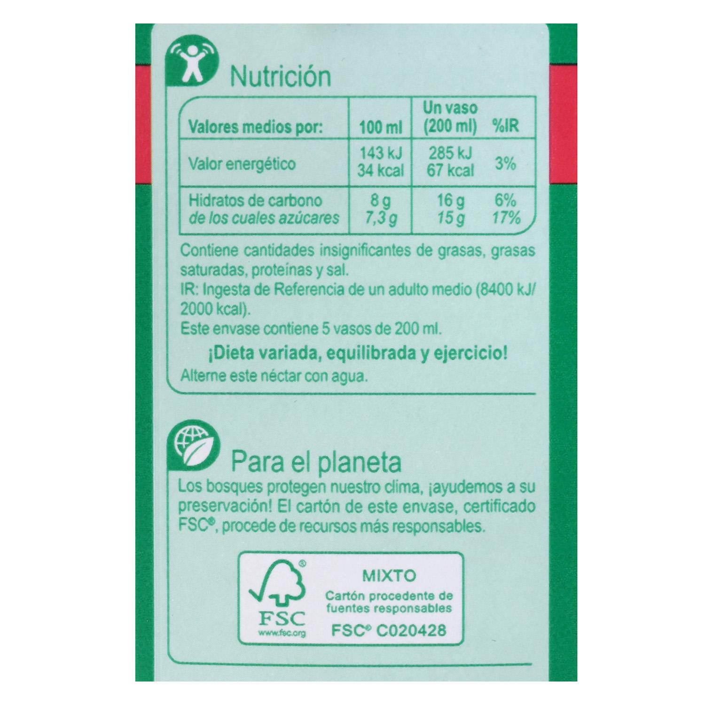 Néctar de guayaba Carrefour brik 1 l. - 2