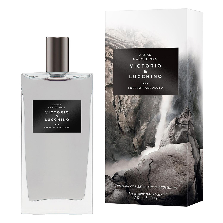 Aguas masculinas nº5 Elegancia Natural Victorio & Lucchino 150 ml.