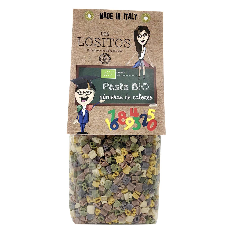 Números ecológicos Los Lositos vegetales 250 g.