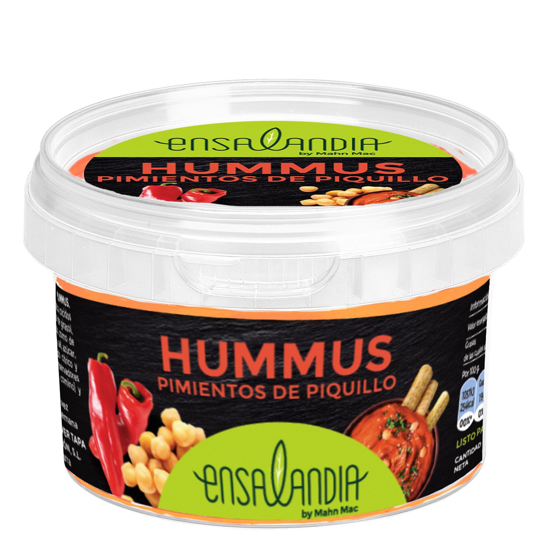 Hummus de pimientos de piquillo 6200010 240 g.