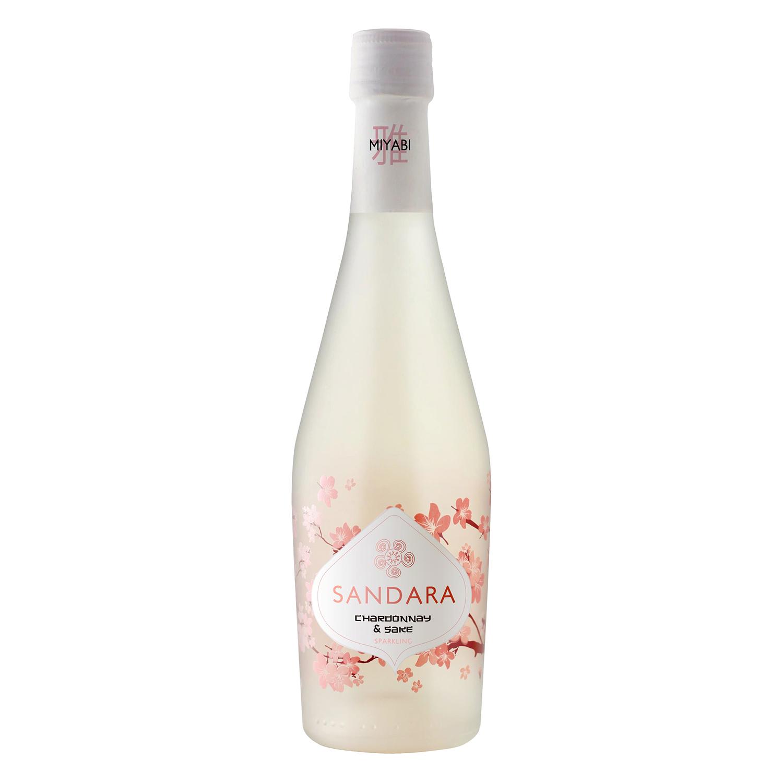 Chardonnay & sake blanco frizzante Sandara 37,5 cl.