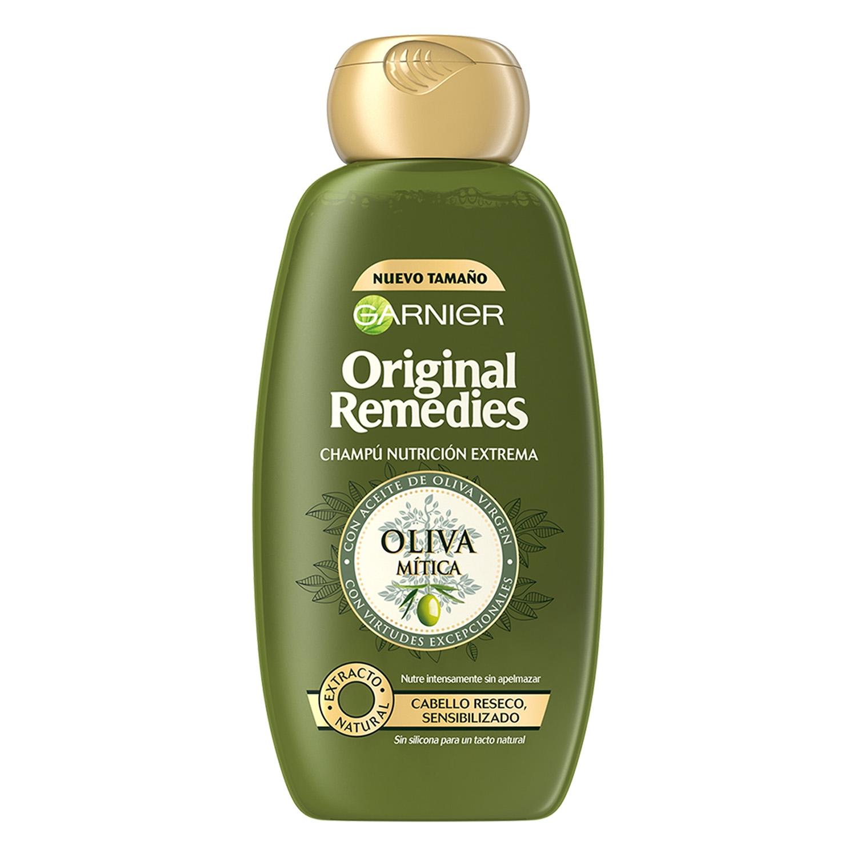 Champú nutritivo con aceite de oliva virgen