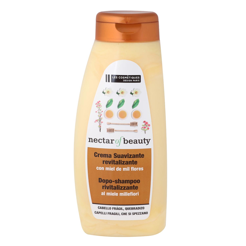 Crema suavizante revitalizante con miel de mil flores Les Cosmétiques -Nectar of Beauty 500 ml.