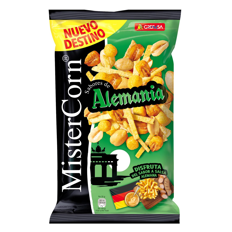 Maíz sabor Alemania Grefusa-Mister Corn 195 g.