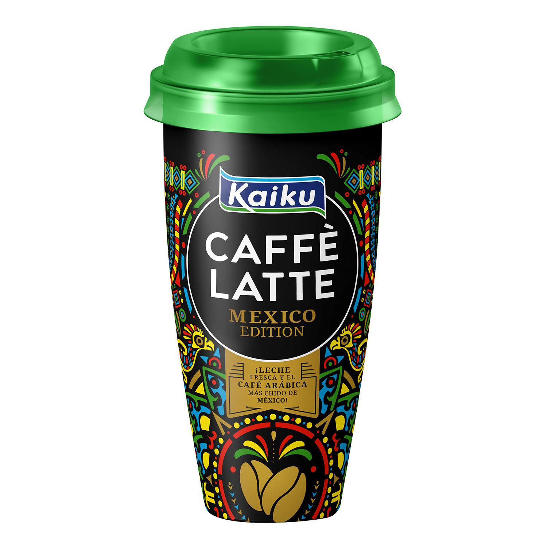 Café latte México Edition Kaiku 230 ml.