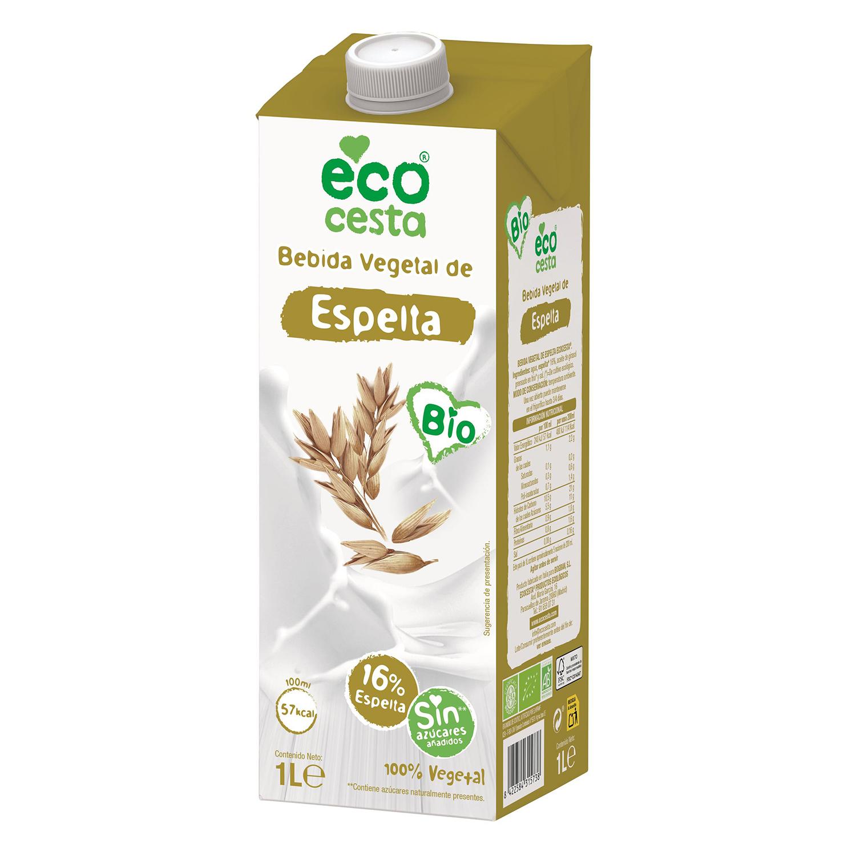 Bebida de espelta sin azúcares añadidos ecológica Ecocesta brik 1 l.