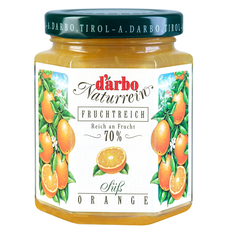 Mermelada de naranja D'arbo 200 g.