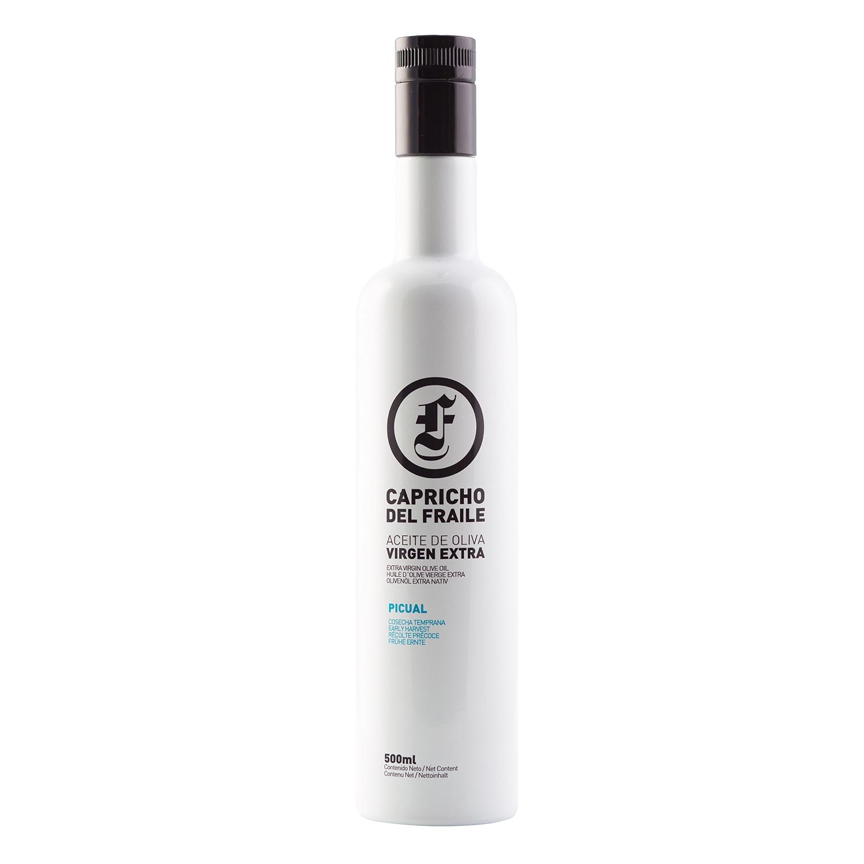 Aceite de oliva virgen extra Capricho del Fraile 500 ml.