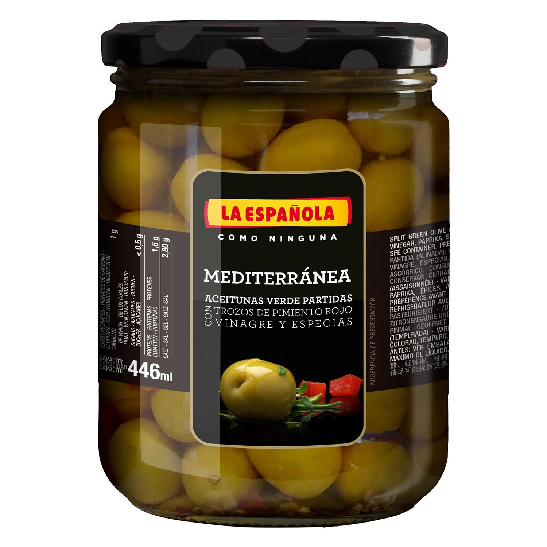 Aceitunas mediterráneas
