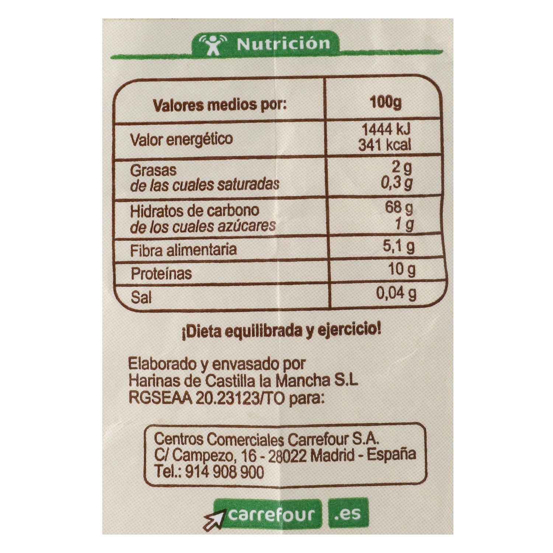 Harina de espelta ecológica Carrefour 500 g. -