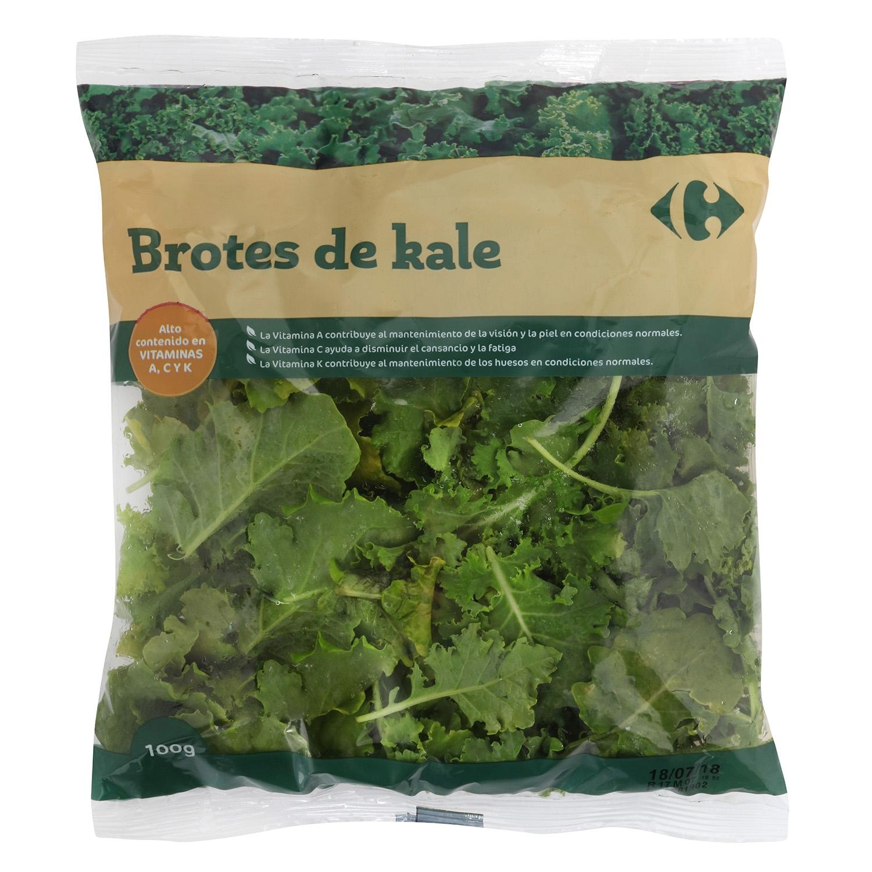 Kale brotes tiernos