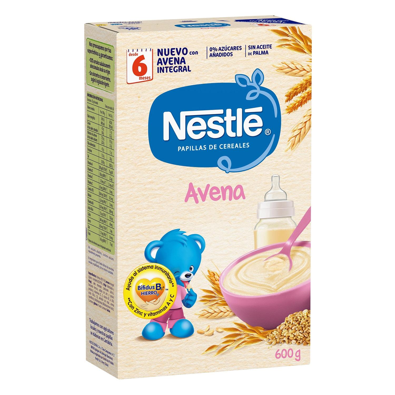Papillas de cereales Avena integral