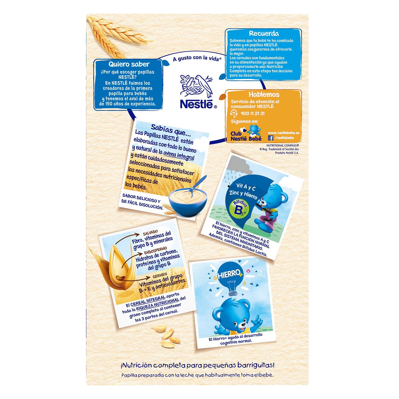 Papillas de cereales Avena integral - 3