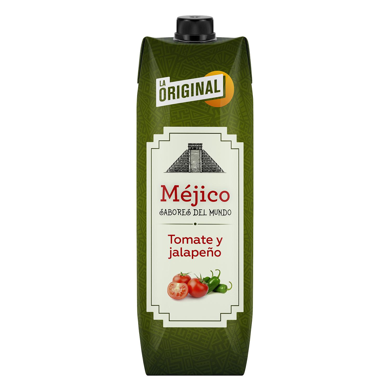Zumo de de tomate y jalapeño La Original Méjico brik 1 l.
