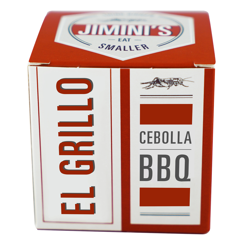 Grillos con cebolla ahumada BBQ Jimini's 14 g.