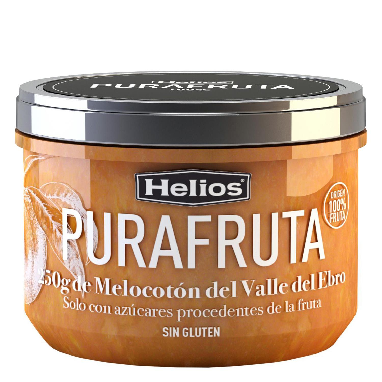 Mermelada de melocotón Helios sin gluten 250 g.