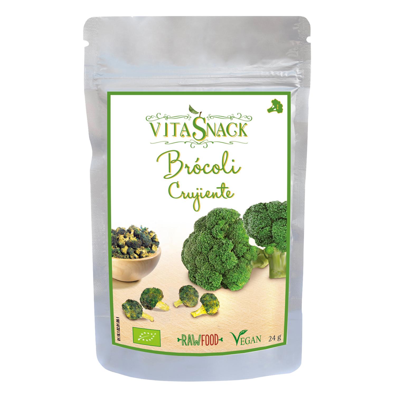 Brócoli crujiente